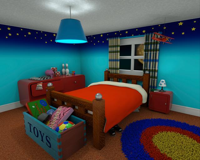 Inredning i barnrum