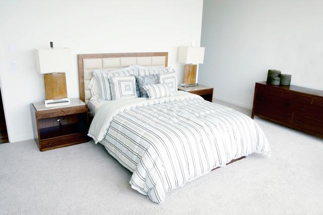 Sovrum i vitt